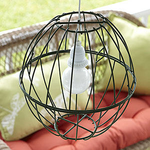 Easy Project Make A Hanging Lamp Tracey In Maine