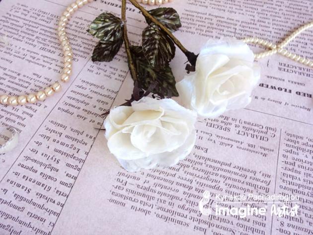 See How to Make Rose Petal Using Creative Medium
