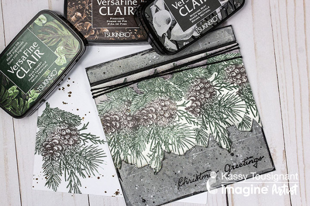 Create a Matching Envelope and Christmas Card