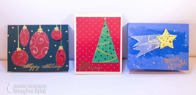 Use Simple Shapes to Make Holiday Cards