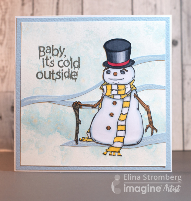 See How To Make A Snowman Card