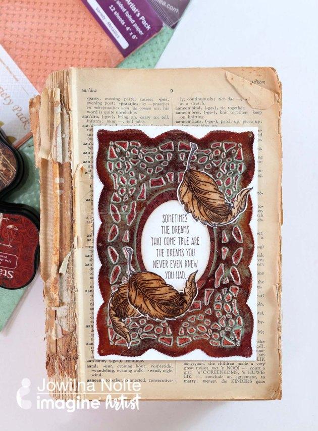 Create an Inspiring Card with Rinea Foil