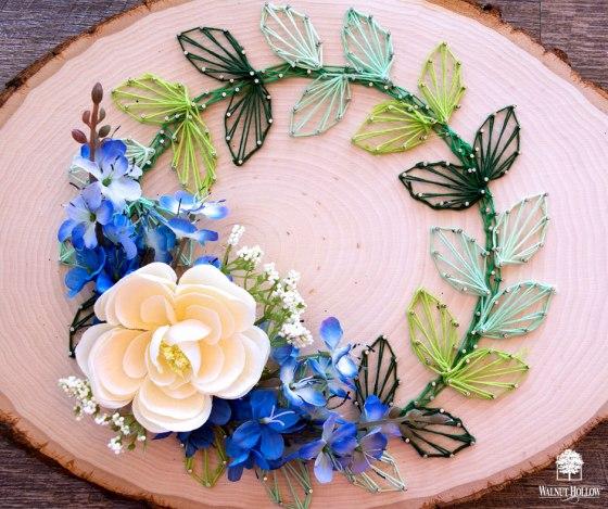 String Art Wreath