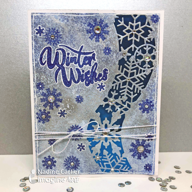 Winter Wishes Card by Nadine Carlier IC